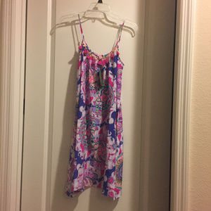 Lilly Pulitzer Rooney Dress Play That Trunky Music